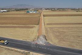 Sanayi Caddesinin 2. OSB Yoluna Bağlantı Yolu Yenileniyor