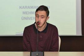 KMÜ'de Konferanslar Devam Ediyor