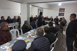 AK Parti Teşkilatı Ayrancı'da Muhtarlarla Buluştu