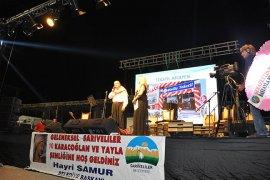 Sarıveliler Uluslararası Karacaoğlan ve Yayla Şenliği Yapıldı