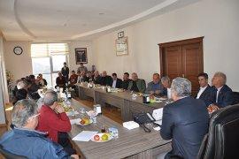 Belediye Başkanı Atila Zorlu Basın Toplantısı Düzenledi