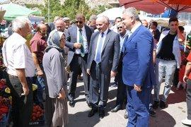 Vali Fahri Meral Ermenek Belediyesini Ziyaret Etti