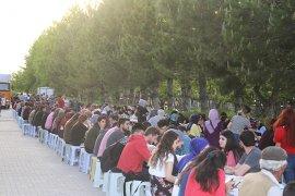 İftar Sofrası Üniversite Öğrencileri İçin Kuruldu