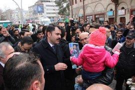 Çevre ve Şehircilik Bakanı Murat Kurum Karamanda