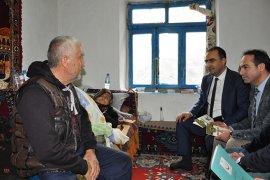 Arslan, Evde Bakım Hizmeti Alan Yaşlıları Ziyaret Etti