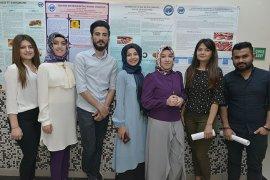 Gıda Mühendisliği Öğrencileri Projelerini Sergiledi