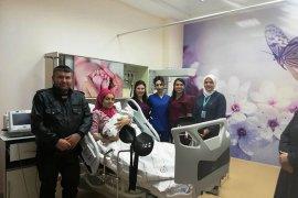 Karaman'ın ilk bebeği saat 01:25 te Karaman Devlet Hastanesinde dünyaya geldi