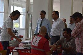 3 Tüp Kan 1 Can Kampanyası'na Yoğun Katılım