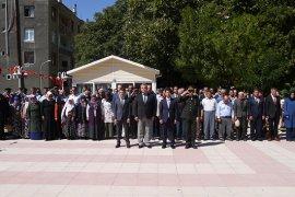 19 Eylül Gaziler Günü Ermenek'te  Kutlandı