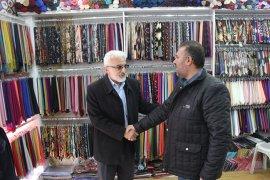 Şaban Şahin Karaman esnaflarını ziyaret ederek dertlerini dinledi.