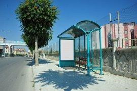 Belediye Otobüs Durakları Yenileniyor