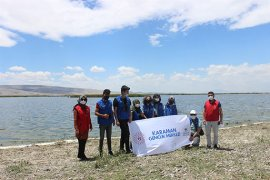 Gönüllü Gençler Temiz Bir Çevre İçin Kolları Sıvadı