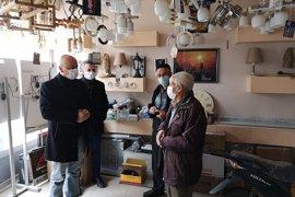 CHP İl Başkanı Kağnıcı Esnafı Ziyaret Etti