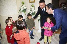 Anaokulu Öğrencilerinden Başkan Kalaycı'ya Ziyaret