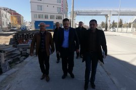 İYİ Parti, Küçük Sanayi Ve Kömürcüler Sitesi Esnafı İle Dertleşti