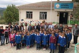 Katranlı Köyü İlkokuluna Akıl Ve Zeka Oyunları Sınıfı Açıldı