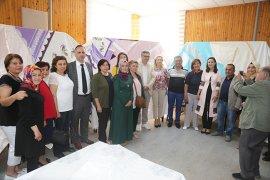 Beyazkent Hanımlar Lokalinden El Sanatları Sergisi