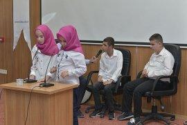 KMÜ'de Görme Engelli Öğrencilerin Yaz Kur'an Kursu Eğitimi Sona Erdi