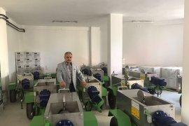 Ziraat Odası'ndan üreticilere üzüm sıkma makinası