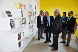TOKİ Ortaokulu Kütüphanesinin Açılışı Yapıldı
