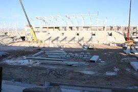 UEFA Standartlarındaki Stadyumun Yüzde 50'si Tamamlandı