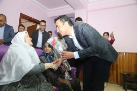Başkan Kalaycı'dan Anneler Gününde Anlamlı Ziyaret
