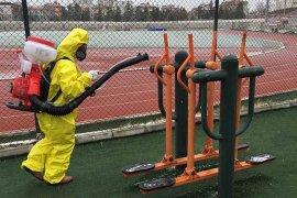 Gençlik Ve Spor İl Müdürlüğü'nde Dezenfekte Çalışmaları Devam Ediyor