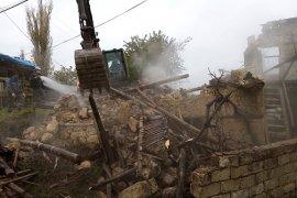 Yangında Hayatını Kaybeden Yaşlı Kadın Toprağa Verildi