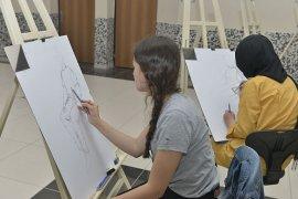 KMÜ Resim Bölümü Özel Yetenek Sınavı Başladı