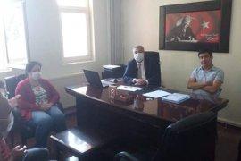 İl Müdürü Yusuf Şahinbaş Ayrancı İlçesini Ziyaret Etti