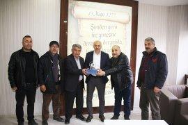 Küçük Sanayi Sitesi'nden Başkan Çalışkan'a Teşekkür Ziyareti