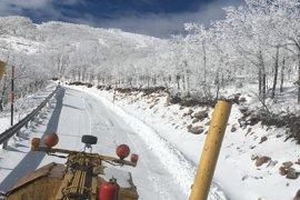 İl Özel İdare Ekiplerinin  Karla Mücadelesi Aralıksız Devam Ediyor