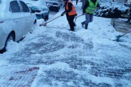 Karaman Belediyesi, Karla Mücadele Ediyor