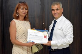 Avrupalı Eğitimcilerden İl Müdürü Abdurrahman Kurt'a Ziyaret