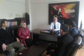 Hizmet-İş Sendikası Karaman İl Emniyet Müdürlüğünü ziyaret etti.