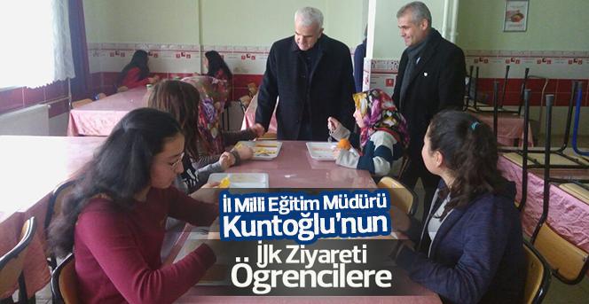 Kuntoğlu'ndan Okullara Sürpriz Ziyaretler