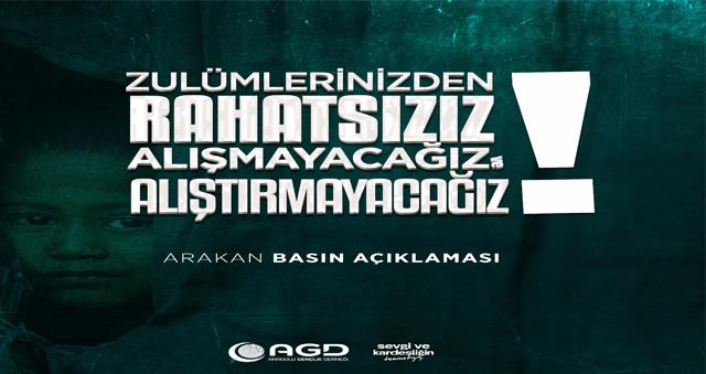 Karaman Anadolu Gençlik Derneği Basın Açıklaması