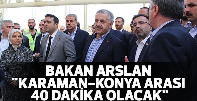Bakan Arslan: