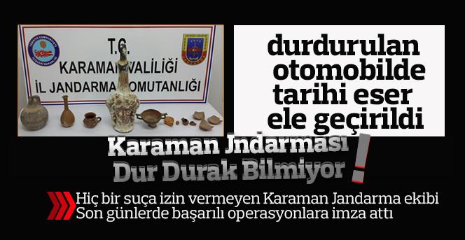 Karaman Jandarma Suçlulara Göz Açtırmıyor