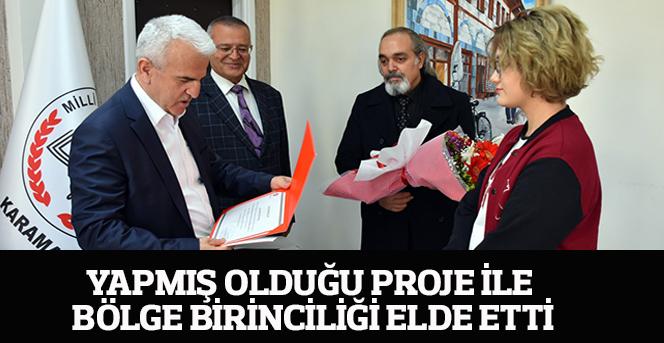 Ekin Doğa Ercan'nın Projesi TÜBİTAK tarafından  Birinci Seçildi.
