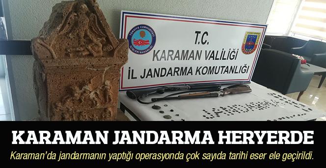 Karaman Jandarma Heryerde