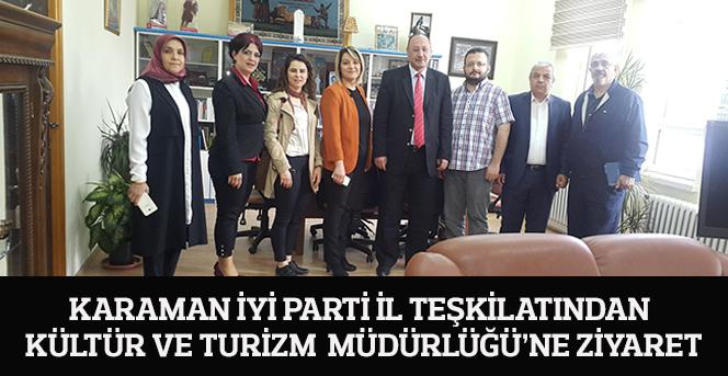 İYİ Parti'den Kültür Ve Turizm  Müdürlüğü'ne Ziyaret