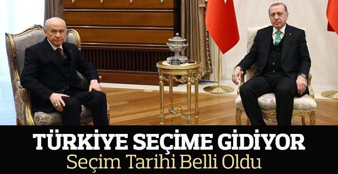 Türkiye Seçime Gidiyor!