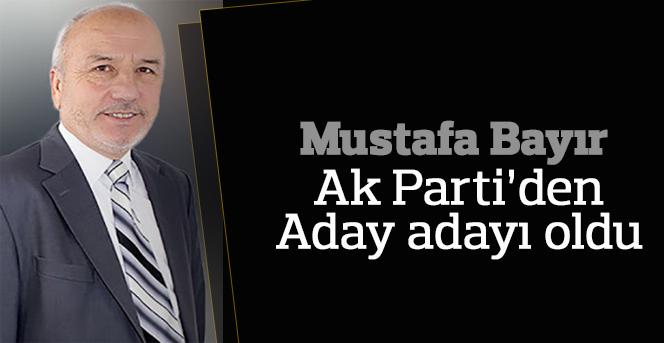 Karaman'da Mustafa Bayır adaylığını açıkladı