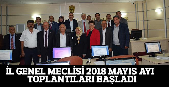 İl Genel Meclisi Mayıs Ayı Toplantıları Başladı