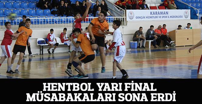 Hentbol Yarı Final Müsabakaları Sona Erdi