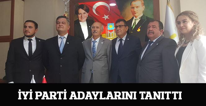 İYİ Parti adaylarını tanıttı