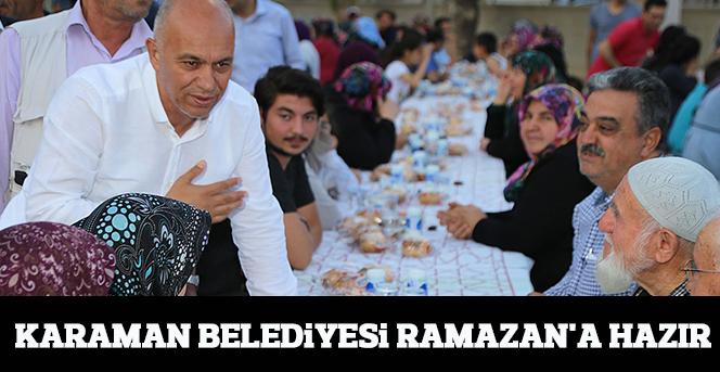 Karaman Belediyesi Ramazan'a Hazır