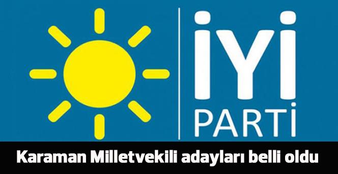 İYİ Parti adayları belli oldu