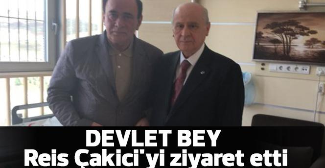 Devlet Bahçeli, Alaattin Çakıcı'yı tedavi gördüğü Hastanede ziyaret etti